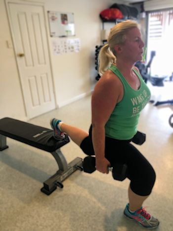 Osteoporosis exercise with personal trainer in Manly, Brisbane